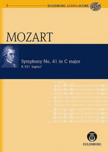 Symphony No.41: C Major: Jupiter: K551: Miniature Score  (Audio Series No 1)