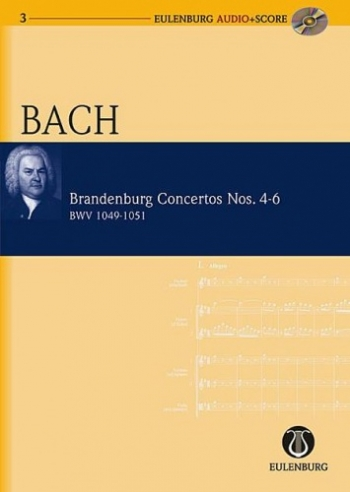 Brandenburg Concertos  No.4-6: Bwv1049-1051 (Audio Series No 3)