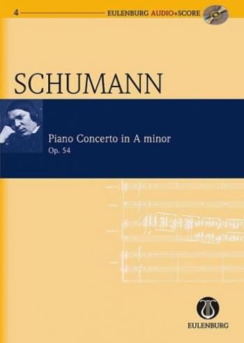 Piano Concerto: A Minor: Op54: Miniature Score  (Audio Series No 4)