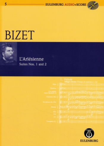 Larlesienne Suite No1 and 2 : Miniature Score  (Audio Series No 5)