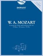 Concerto: D Major: No2: Kv211: Violin and Piano (Dowani)