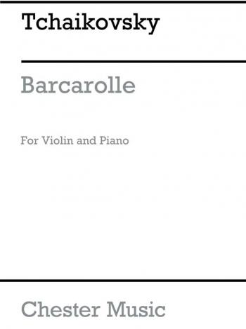 Barcarolle Op37 No6: Violin and Piano