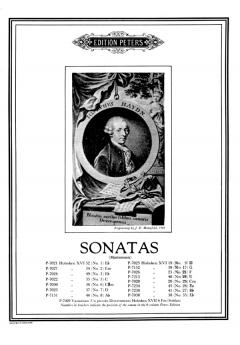 Sonata In Bb: Xv1-41/ No27: Piano (Peters)