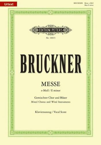 Mass In E Minor : German: Vocal Score