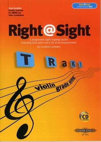 Right@sight Violin Grade 1 Book & CD (Right At Sight)