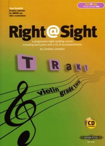 Right@sight: Grade 2:(Right At Sight): Violin