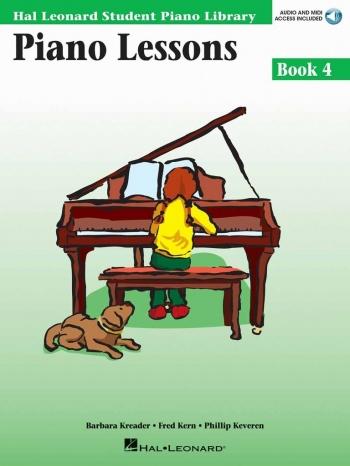 Hal Leonard Student Piano Library: Book 4: Piano Lessons