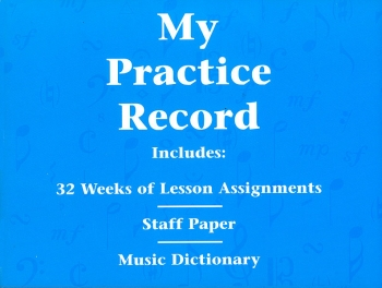 Hal Leonard Student Piano Library: My Practice Record