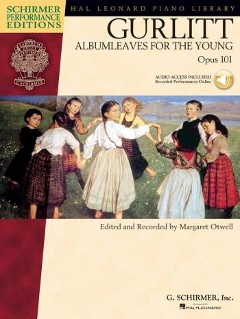 Album Leaves Op101: Piano: Bk&cd: Schirmer Performance Ed-hlspl  (otwell)