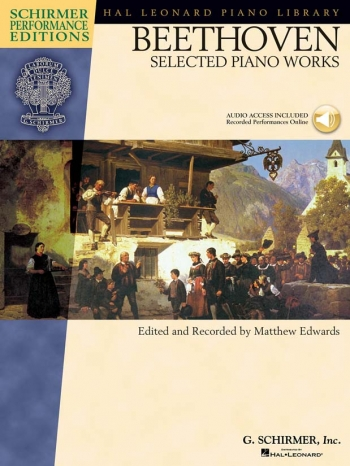 Selected Piano Works: Schirmer Performance Book & CD