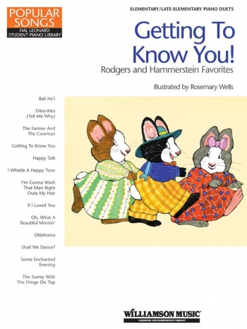 Hal Leonard Piano Library: Getting To Know You: Rogers and Hammerstein Favourites