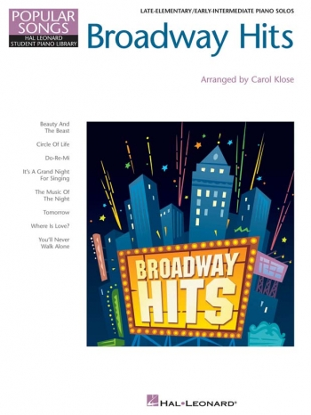 Popular Songs: Hal Leonard Student Piano: Broadway Hits: Piano