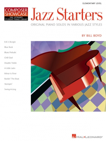 Hal Leonard Composer Showcase: Jazz Starters: Elementary Piano