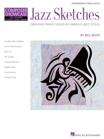 Hal Leonard Composer Showcase: Jazz Sketches Piano