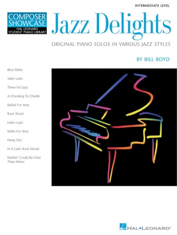 Hal Leonard Composer Showcase: Jazz Delights