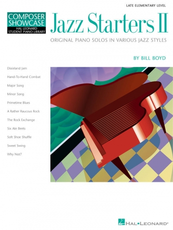 Hal Leonard Composer Showcase: Jazz Starters Ii