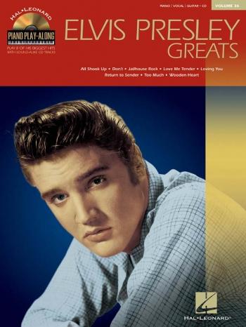 Piano Play Along: Elvis Presley Greats: Vol.36: Bk&CD