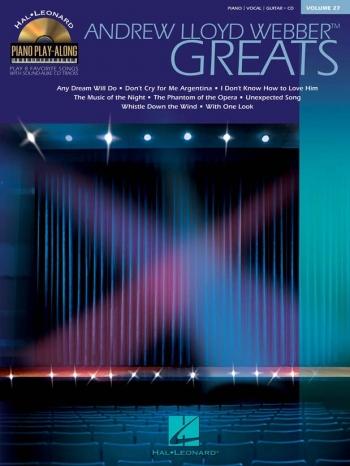 Piano Play Along: Lloyd Webber: Vol.27: Piano Vocal Guitar