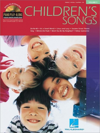 Piano Play Along: Childres Songs:  Vol.9