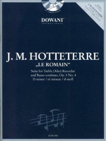 Suite Le Romain: Op 5 No. 4: Treble Recorder (Dowani)
