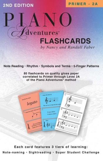 Piano Adventures: Flashcards