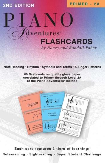 Piano Adventures: Flashcards