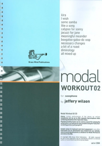 Modal Workouts For Saxophone: Book 2 Book & CD(Wilson)