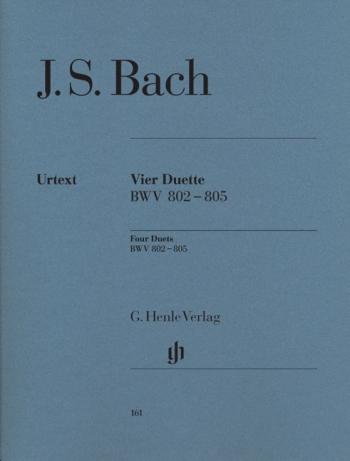 4 Duets: Bwv 802: 805: Piano Solo