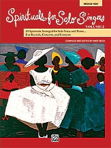 Spirituals For Solo Singers: Medium High:  Vol 2