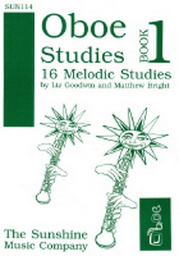 Oboe Studies: Book 1: 16 Melodic Studies