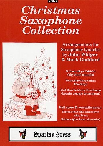Christmas Saxophone Collection: Saxophone Quartet SATB Or AATB: Sc&pts