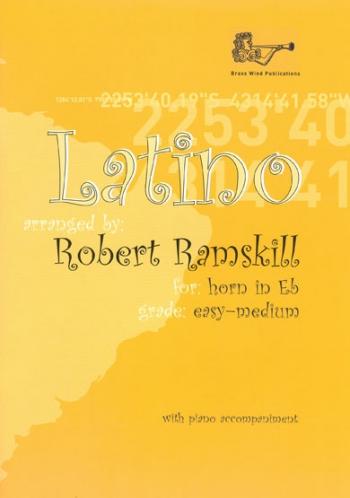 Latino: Tenor  Horn : Easy/Medium : Horn  & Piano