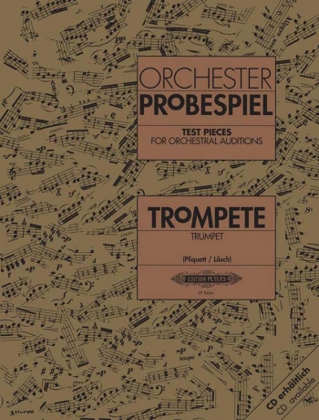 Test Pieces For Orchestral Auditions Trumpet (Orchester Probespiel)