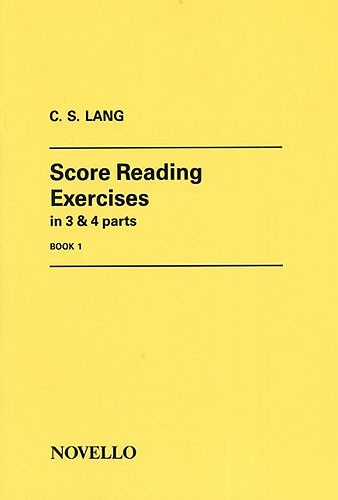 Score Reading Exercises: Book 1: Organ