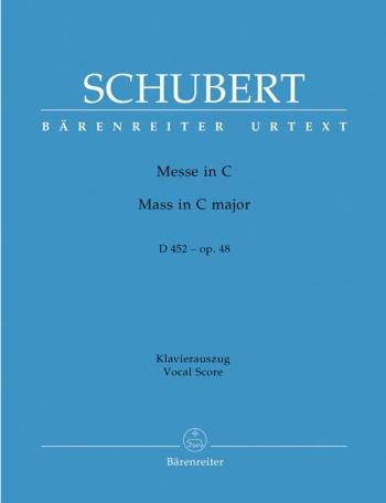 Mass C Major: D452: Vocal Score