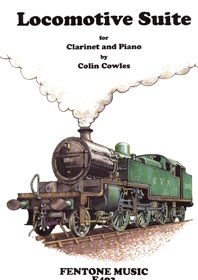 Locomotive Suite: Clarinet & Piano (Fentone)
