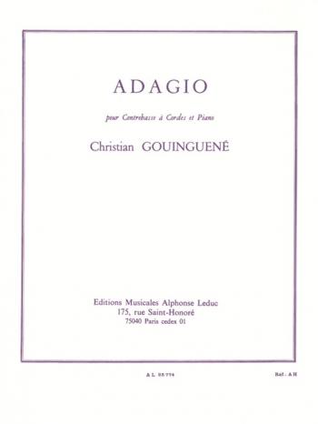 Adagio: D: Double Bass