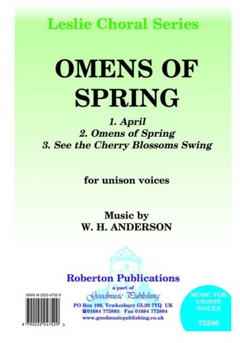 Omens Of Spring: Solo Voice