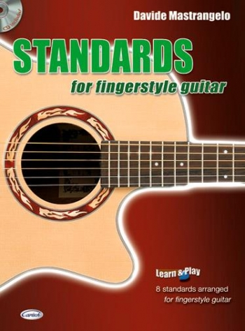 Standards For Fingerstyle Guitar: Book & CD