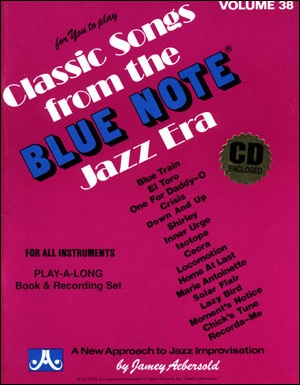 Aebersold Vol.38: Blue Note: All Instruments: Book & CD