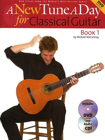 New Tune A Day: Classical Guitar: Book 1: Book & CD & DVD