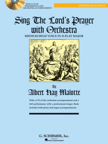 Sing The Lords Prayer: Db: Medium High Voice and Piano