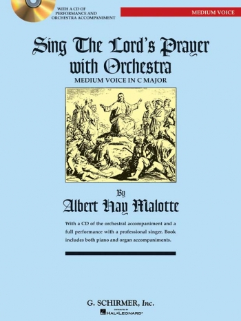 Sing The Lords Prayer: C: Medium Voice and Piano