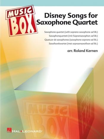 Disney Songs: Saxophone Quartet