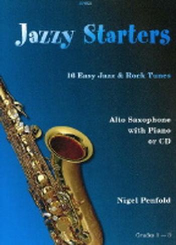 Jazzy Starters: Alto Sax: bk&cd