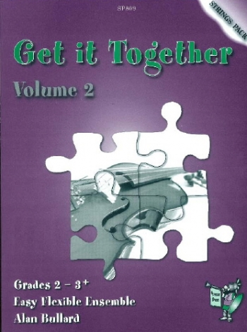 Flexible String Ensemble: Get It Together: 2: Strings Pack: Gr 2-3: (Bullard)
