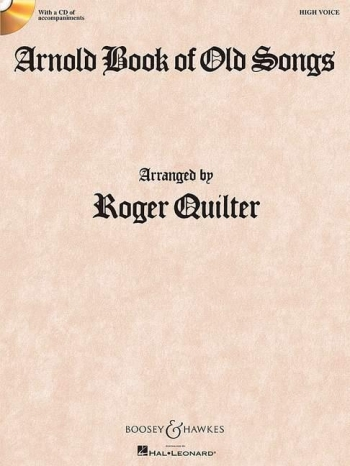 Book Of Old Songs: High Voice: Vocal and Piano