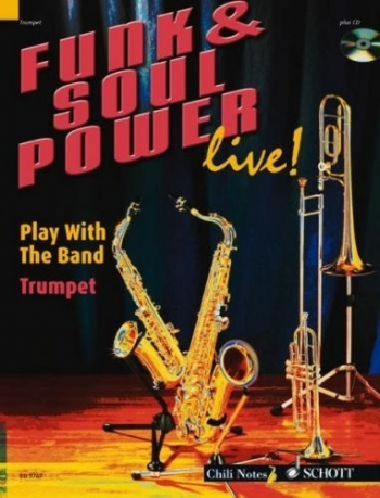 Funk and Soul Power Live: Play With A Band: Trumpet