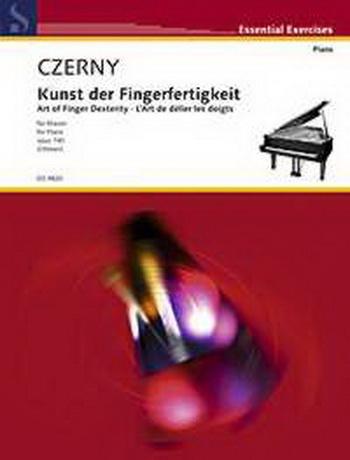 Art Of Finger Dexterity: Op.740 Piano (Peters)