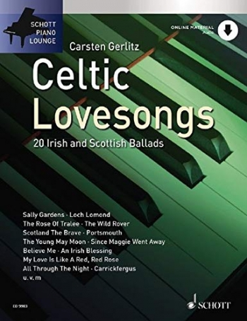 Schott Piano Lounge: Celtic Love Songs:  Piano Book & CD
